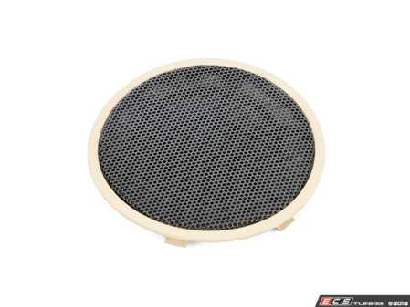 ES#2767340 - 51417345190 - Front Door speaker cover  - Beige - Genuine BMW - BMW