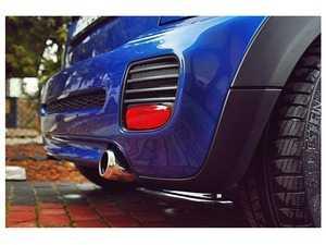 ES#3147183 - MC2JCWRSD1-GLOSS - Rear Side Splitter JCW Set - Gloss Black - Transform the look of your vehicle - Maxton Design - MINI