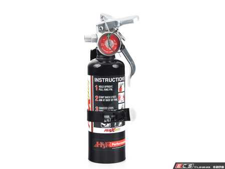 ES#3504979 - MX100B - MaxOut™ Dry Chemical Black Fire Extinguisher - 1 lb. - Protect your investment with a fire extinguisher that attacks fires involving flammable liquids quickly and safely, with no danger of electric shock. - H3R Performance - Audi BMW Volkswagen Mercedes Benz MINI Porsche