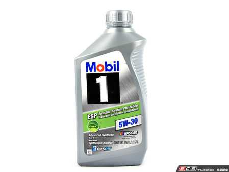 ES#2999086 - P0103469 - Mobil 1 ESP Formula Engine Oil (5w-30) - 1 Quart - Factory-recommended ESP formula (P0103469/Q1090273) - Mobil1 - Audi BMW Volkswagen Mercedes Benz Porsche