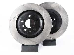 ES#3136930 - 126.33117SLkt - Rear Slotted Brake Rotors - Pair (330x22mm) - Upgrade your stopping power - StopTech - Audi