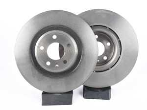 ES#3184395 - 8K0615301M - Front Brake Rotors - Pair (345x30) - Restore your vehicles stopping power - Brembo - Audi