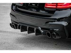 ES#3624707 - F90TROPHYDIFF - Trophy Rear Diffuser - Carbon Fiber - A subtle yet elegant rear diffuser to set off the looks of your ///M - Mode Carbon - BMW