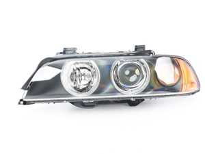 ES#172751 - 63126912439 - Xenon Headlight Assembly - Left - Xenon headlight assembly with angel eyes, comes with clear lens over indicator bulb - Genuine BMW - BMW