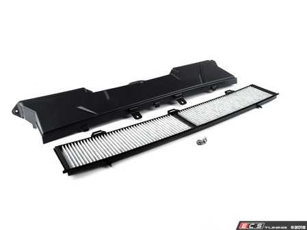 ES#3604021 - 64316987498KT - Cabin Air Filter Cover Kit - Includes cover, filter and hardware - Assembled By ECS - BMW