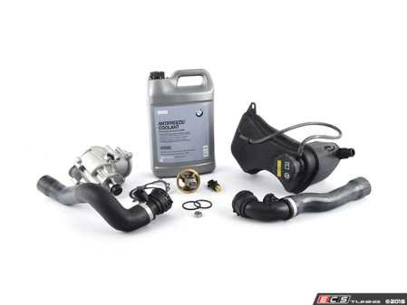ES#2497359 - 17127510952KT4 - Cooling System Refresh Kit - Level 1 - Contains the components that commonly fail in your cooling system - featuring high quality aftermarket contents - Assembled By ECS - BMW