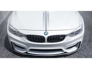 ES#3162658 - 4100BMV - EVO Front Add On Spoiler Carbon Fiber PP 1x1 Glossy - Vorsteiner - BMW