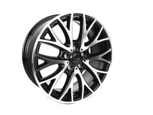 "ES#3621891 - 243-1KT - 19"" Style 243 Wheels - Square Set Of Four - 19x7.5"" ET52 72.56CB (72.6CB) 5x120. Black/Machine Face - Alzor - MINI"