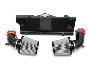 ES#3627219 - FSPOR997TCOMPAI - 997 Turbo Carbon Fiber Competition Air Intake System - Dual-conical air intake system that is a direct high performance replacement for the factory air box - Fabspeed - Porsche