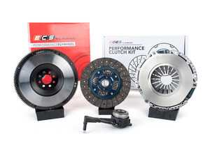 ES#3480025 - 003465ECS01KT -  ECS Tuning Stage 2 Performance Clutch Kit with Lightweight Forged Steel Flywheel (18.85lbs) - The best value for Heavy Duty OE Replacement and Stage 2 Power Levels! Capable of holding 400 Ft/Lbs of torque - ECS - Audi Volkswagen