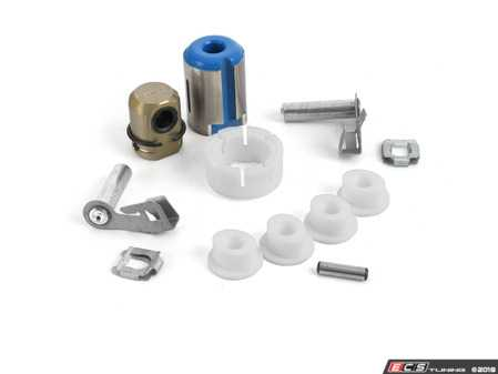 ES#3509820 - 1msrbKT1 - Shifter Rebuild & Upgrade Kit - Overhaul your shifter with this kit, featuring ECS Tuning teflon shifter bushings & Turner Motorsport poly shift arm bushing - Assembled By ECS - BMW