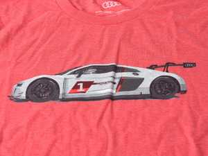 ES#3572010 - ACM3026REDLG - Audi R8 LMS GT3 T-Shirt - Red - Large - Cross the finish line first every time with the Audi R8 LMS GT3 Tee! - Genuine Volkswagen Audi - Audi BMW Volkswagen Mercedes Benz MINI Porsche