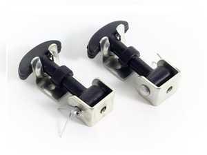 ES#2839857 - E73 - Rubber Bonnet/Boot Hooks - Set Of 2 - A perfect complement for any build - Rennline - Porsche
