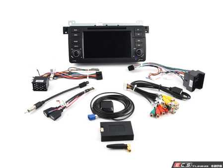 ES#3618985 - U96529 - Android Multimedia Headunit System - Features an 4-core processor running Android 7.1 making it one powerful plug and play radio upgrade! - Bremmen Parts - BMW