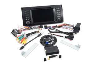 ES#3618986 - U96530 - Android Multimedia Headunit System (Button) - Features an 4-core processor running Android 7.1 making it one powerful plug and play radio upgrade! - Bremmen Parts - BMW