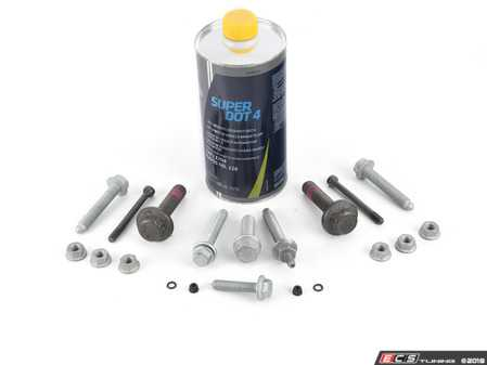 ES#3625908 - 015123ECS02KT - Basic Clutch Installation Kit - Includes basic TTY bolts that are required for most clutch jobs - Assembled By ECS - Volkswagen