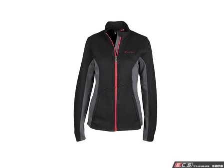 ES#3628220 - ACM2045BLK2X - Spyder Constant Full-Zip - Ladies 2XL - The Constant Full Zip Jacket has a clean aesthetic and fit for active women. - Genuine Volkswagen Audi - Audi