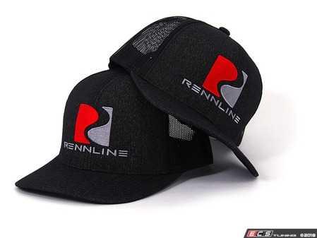 ES#3551918 - AP22 - Trucker Hat - R-Curve - Part of the exclusive RennGear clothing line. - Rennline - Audi BMW Volkswagen Mercedes Benz MINI Porsche
