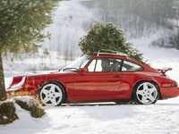 ES#3638848 - e99black - Rennline Vintage Roof Rack - Black Powder Coat - Add era proper styling and function to your classic 911 - Rennline - Porsche