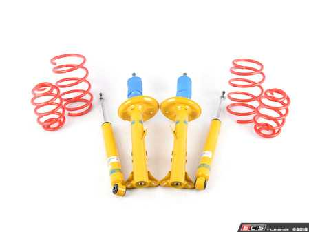 ES#2649581 - 46-180926 - B12 Sportline Suspension System - Expertly matched Eibach Sportline lowering springs and Bilstein shock/strut package for a dramatic increase in performance handling with an even more aggressive look than the Pro-Kit. World-famous Bilstein quality with a limited lifetime warranty! - Bilstein - BMW