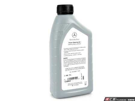 ES#3409701 - Q1460002 - Power Steering Fluid - Priced Each - One (1) Quart Bottle - Priced Each - Genuine Mercedes Benz - Mercedes Benz