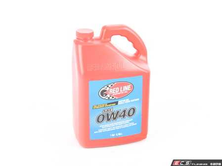 ES#2847809 - 11105 - Engine Oil (0w-40) - 1 Gallon - A fully synthetic ester formula that offers excellent wear protection across a wide range of operating conditions - Redline - Audi BMW Volkswagen Mercedes Benz MINI Porsche