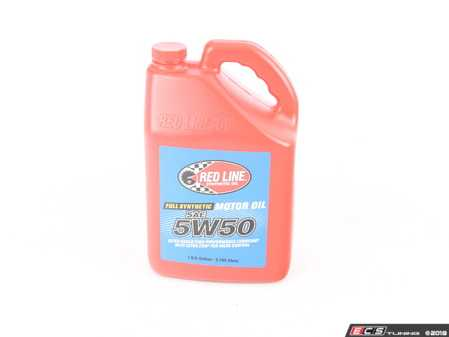 ES#2847830 - 11605 - Engine Oil (5w-50) - 1 Gallon - Popular for performance engines in high-temperature climates - Redline - BMW Mercedes Benz MINI Porsche