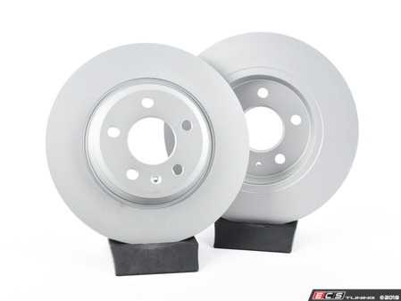 ES#3624694 - 8K0615601BKT - Rear Brake Rotors - Pair (300x12) - (NO LONGER AVAILABLE) - Restore your stopping power - Optimal -