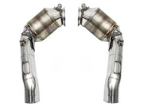 ES#3626106 - FSBMWF10PSCDP - Primary Sport Cat Downpipes - Less restriction, more power, and better sound! - Fabspeed - BMW