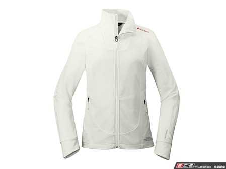 ES#3628251 - ACM2050WHTMD - The North Face Tech Stretch Soft Shell Jacket - Ladies Medium - For hiking, biking or commuting, The North Face Tech Stretch Soft Shell Jacket is a weather-protective, breathable layer with four-way stretch for ease of movement. - Genuine Volkswagen Audi - Audi