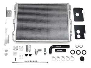ES#3639608 - 034-102-1000 - 034Motorsport Supercharger Heat Exchanger Upgrade Kit - Significantly reduces intake air temperatures - Core size increased From 148 sq. in. to 341 sq. in, and frontal area increased by 130% over stock cooler! - 034Motorsport - Audi