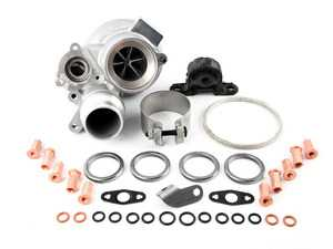 ES#3480037 - N20TCUPKT - Turbocharger Upgrade Kit - Featuring Dinan turbo with upgraded internals in a stock turbocharger for more boost, more power, and improved longevity - plus installation hardware package for a more straightforward DIY install. - Assembled By ECS - BMW