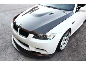 ES#3617990 - 92MOEMHOODCFKV11 - OEM Style Race Hood  Carbon Fiber & Kevlar - Save weight and look great! Features a 1x1 weave pattern. - RKP - BMW