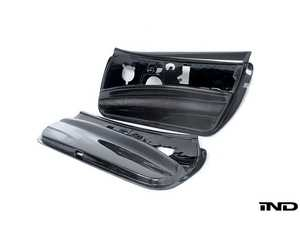 ES#3618006 - E92MFRDOORCF11 - Interior Door Panel Set - Carbon Fiber - Save weight and look great! Features a 1x1 weave pattern. - RKP - BMW