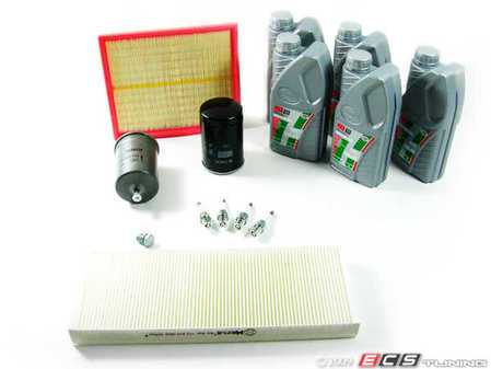 ES#1567 - B5PAWMEV40KSK - 40k scheduled Service Kit  - Everything you need to perform the recommended 40k mile service - Assembled By ECS - Volkswagen