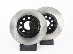 ES#3230759 - 125.33099KT - Rear Brake Rotors - Pair (282x12) - Premium, high carbon rotors - StopTech - Audi Volkswagen