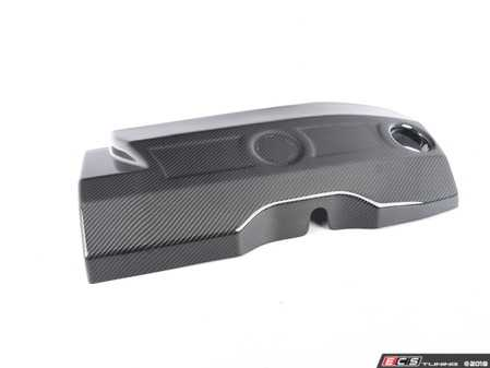 ES#3658414 - 023741tms04 - Turner N55 Carbon Fiber Engine Cover - Gloss - Ditch that OEM plastic for Turner's hand-laid carbon engine cover - Turner Motorsport - BMW