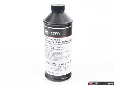 ES#3628353 - B0007501MDSP - Brake Fluid - 500mL - DOT4 compliant - Genuine Volkswagen Audi - Audi Volkswagen