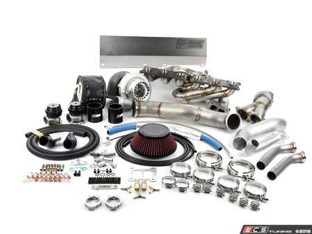 ES#3470028 - DOC-N54TM-TC - 6266 Dual Ball Bearing N54 Top Mount Single Turbo Kit  - Completely transform your 335i/135i with a single turbo conversion capable of up to 800hp! - DocRace - BMW