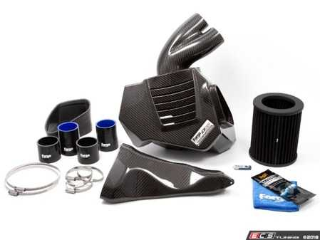 ES#3644771 - FMINDK9 - Forge Motorsport Hi-Flow Carbon Fiber Airbox - Sleek carbon fiber airbox that flows beautifully in the engine bay, while squeezing more horsepower and torque out of your 4.0T! - Forge - Audi