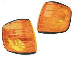ES#3646655 - 0008208521KT - W126 Amber Turn Signal Housings - Replace those worn indicators with these new quality replacements from URO - URO - Mercedes Benz