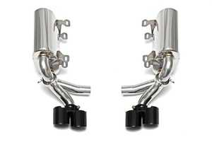 ES#3627207 - FSPOR997SMAXP - Maxflo Performance Exhaust System With Quad Style Tips in Polished Chrome - A Perfect Balance for your 997 - Throatier exhaust note - Increased Power - Weight saving over stock unit - Fabspeed - Porsche