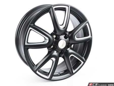 "ES#3141287 - 36116855095 - 534 MINI Double Spoke Wheel 18"" (5x112) Matte Black - Priced Each - 7JX18 ET:54 - Genuine MINI - MINI"