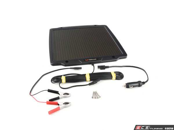 Schumacher SP-400 4.8W 12V Solar Battery Charger and Maintainer ...