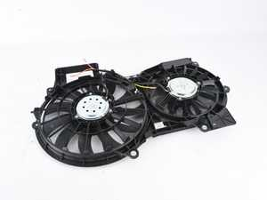 ES#3646928 - 620-835sd - Radiator Fan Assembly Without Controller - *Scratch And Dent* - *Please see description prior to ordering* Replacement fan, motor, shroud, and blade. - Dorman - Audi