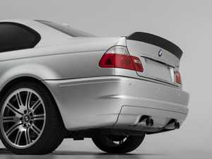 ES#3603722 - 024707TMS01 - Turner Motorsport Carbon Fiber High Kick Rear Lip Spoiler - A beautiful high kick carbon spoiler that pays homage to CSL while flowing perfectly with E46 coupe body lines! - Turner Motorsport - BMW