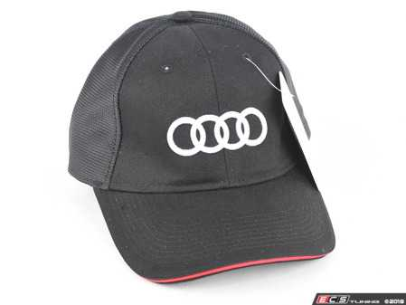ES#3613965 - ACM4496 - Audi Big Rings Cap - (NO LONGER AVAILABLE) - The rings say it all - Genuine Volkswagen Audi -