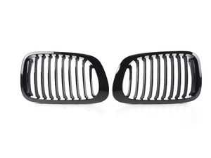 ES#2747964 - BM01-4603-BK - Blackout Grille Set - Gloss Black  - Add style and individuality to your BMW in minutes! - ECS - BMW
