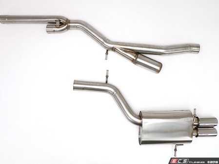 "ES#264046 - FPIM-0530 - Sport Cat-Back Exhaust System - 3"" - Sport system - an aggressive exhaust for aggressive cars! - Billy Boat Performance - Audi"