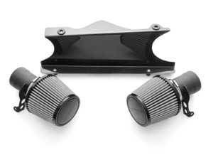 ES#3627141 - FSPOR9972TCOMPAI - Carbon Fiber Competition Air Intake System - Dual-conical air intake system that is a direct high performance replacement for the factory air box - Fabspeed - Porsche